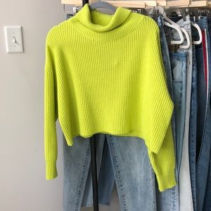 Superdown Cropped Sweater